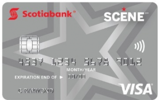 Scene Visa Student Credit Card
