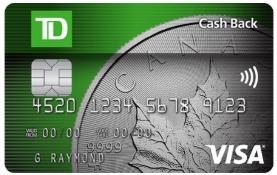 TD Cashback Visa Credit Card