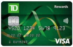 TD Rewards Visa Credit Card